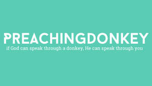 preaching donkey plus graphic