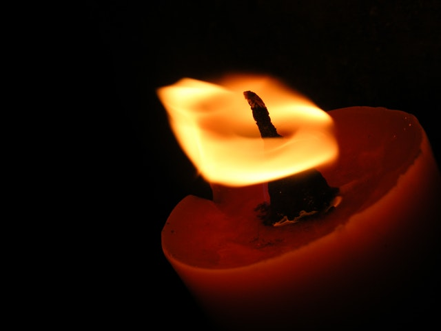candle darkness flicker wick courage missing ingredient hope
