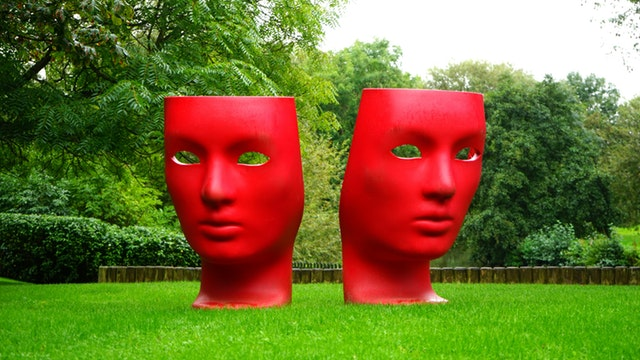masks red masks insecurity identity daily affirmations
